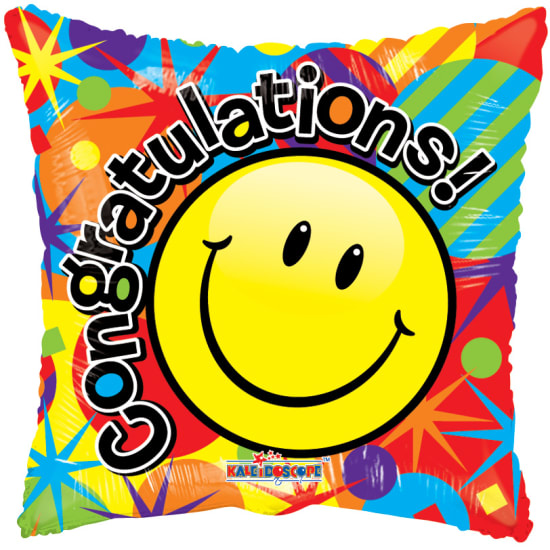 Congrats - Smiley - Standard