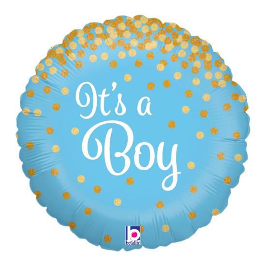 It's A Boy - Glitter - Standard