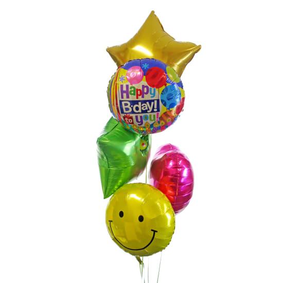 Deluxe Birthday Balloons - Deluxe