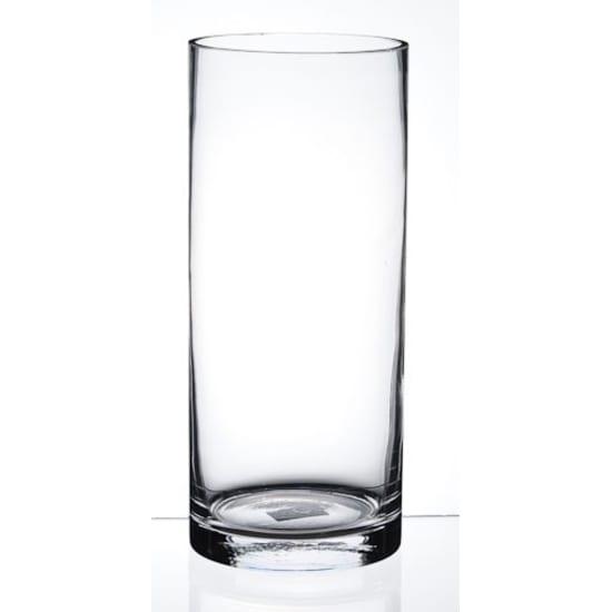 Cylinder Vase 10cm x 20cm - Standard