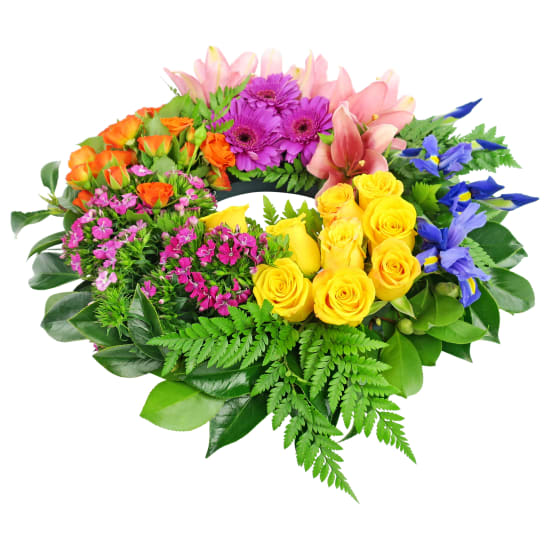 Vibrance Wreath - Standard