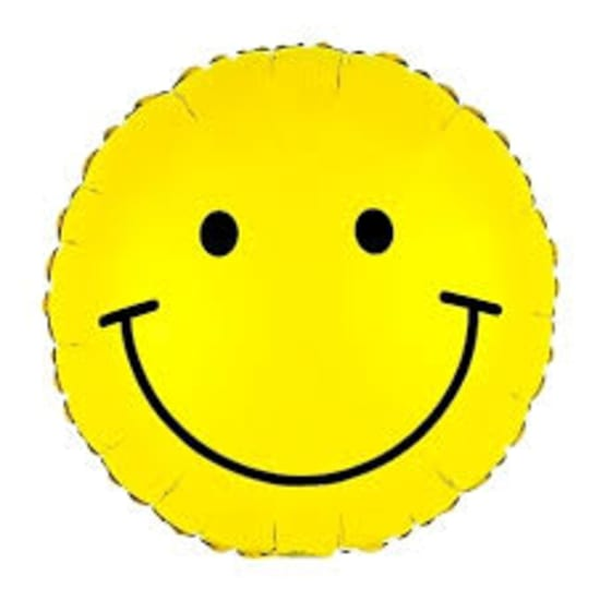 Smiley  Balloon - Standard