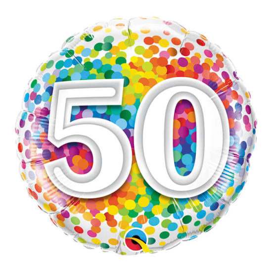 50Th  Birthday - Standard