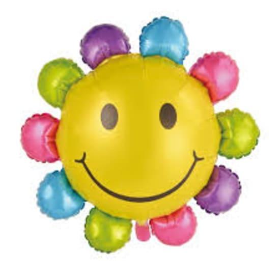 Multi Colour Sunflower Balloon - Standard