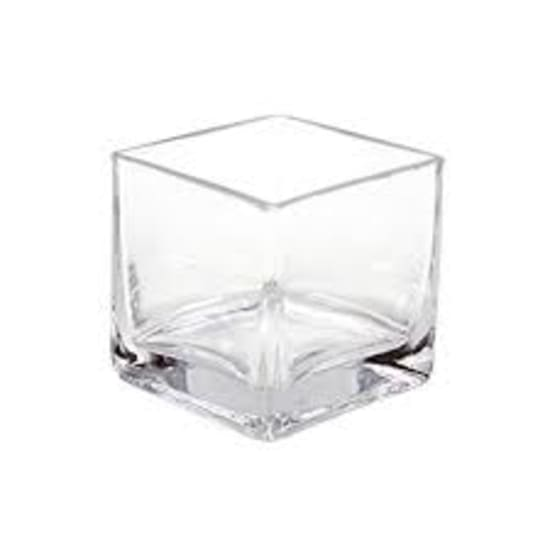 Glass Country Cube 12x12x12 - Standard