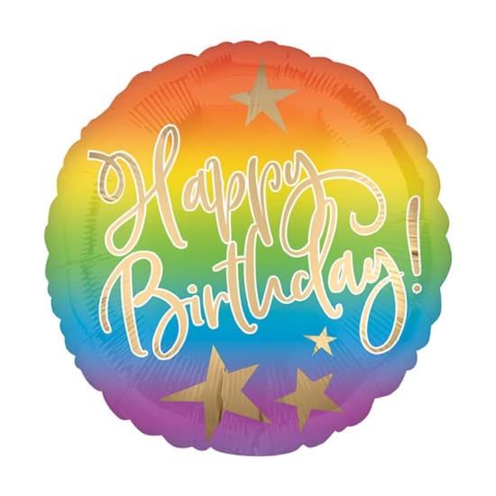 Happy Birthday Ombre - Standard