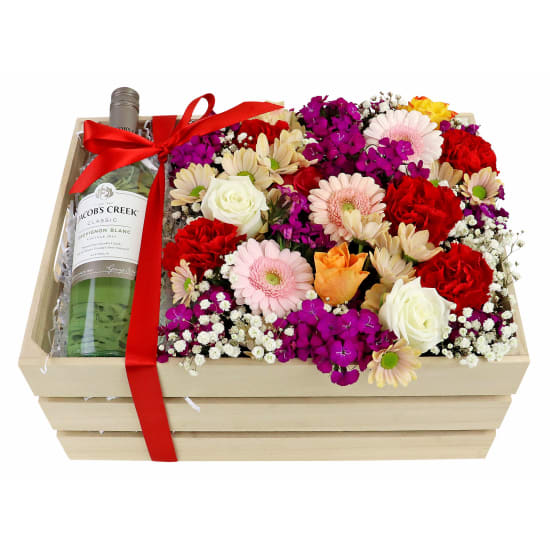 Sauv Blanc Flower Crate - Standard
