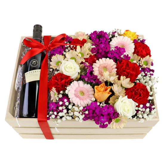 Pepperjack Flower Crate - Standard