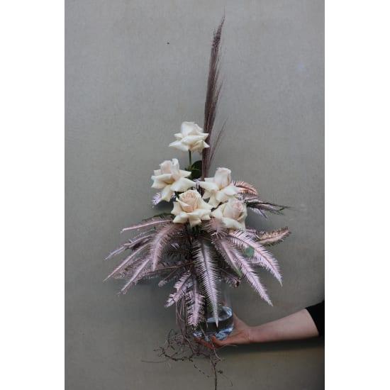 Gilded Rose Vase - Standard