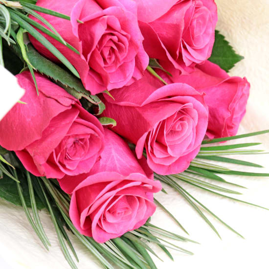 Pink Rose Bunch - Standard