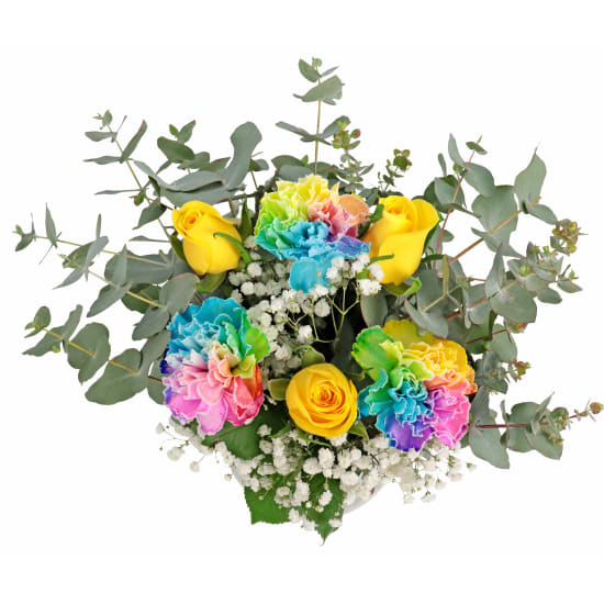 Little Flower Vase - Rainbow - Standard