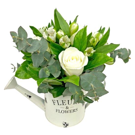 Fleur Watering Can - White - Standard