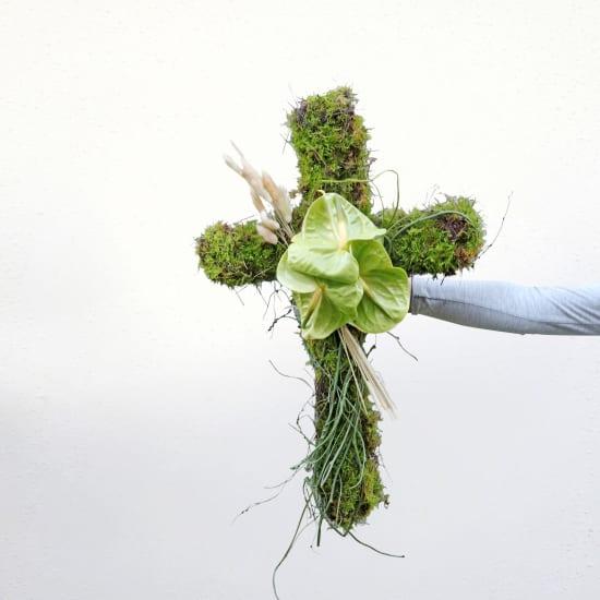 Lasting Peace Flower Cross - Standard
