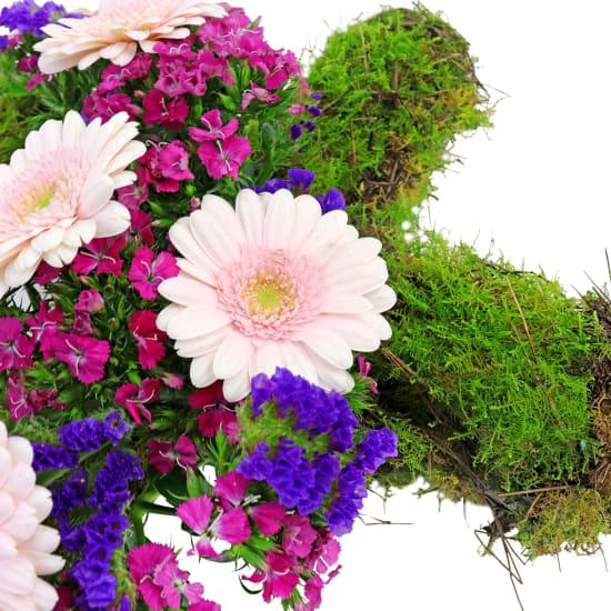 Dearheart Flower Cross - Standard