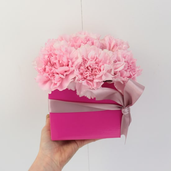 Little Flower Box - Pink - Standard