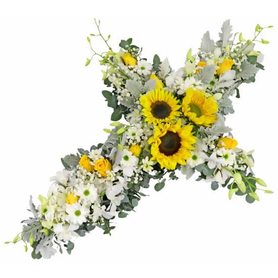 Ray Of Sunshine Wreath - Standard
