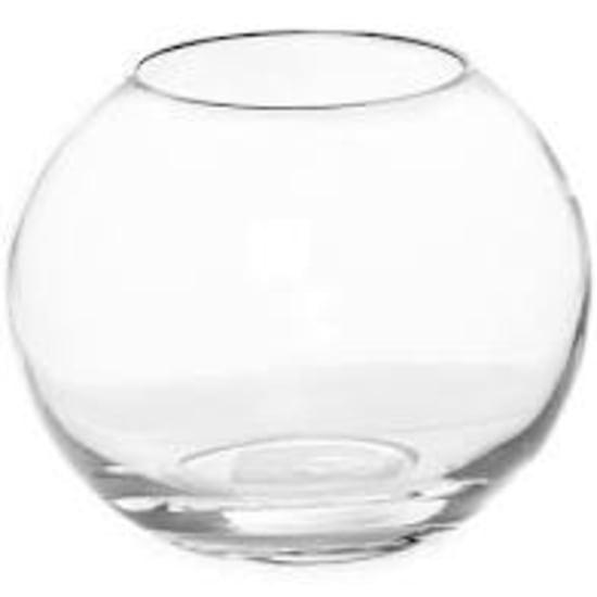 Medium Glass Fish Bowl - Standard