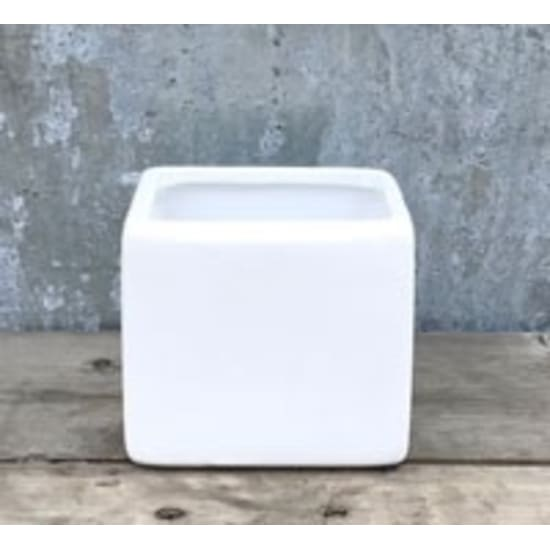 03-SQ3-5White Sq Ceramic - Standard
