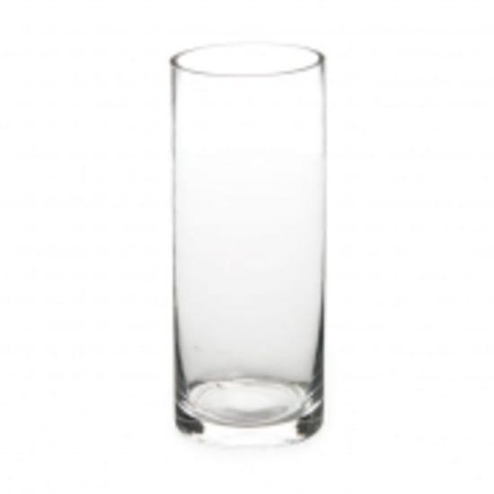 Cylinder Vase 10cm x 25cm - Standard