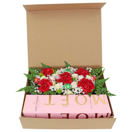 Elegant Rosé Hamper - Standard