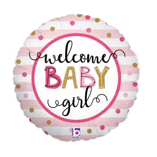 Welcome Baby Girl - Standard