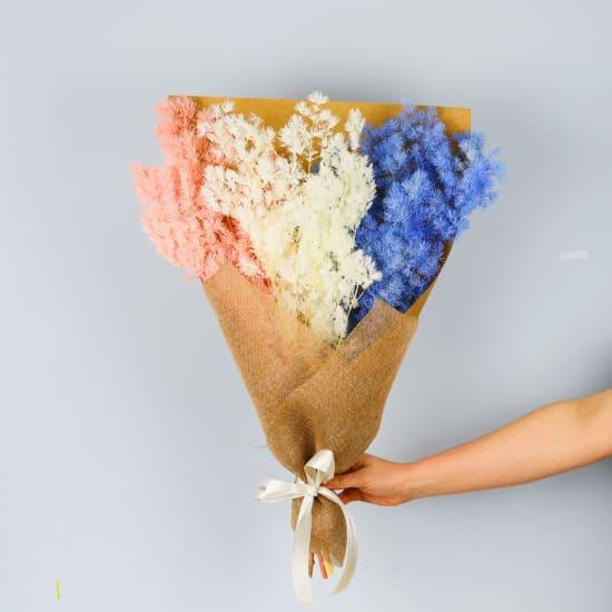 Soft Pastel Dried Bouquet - Standard