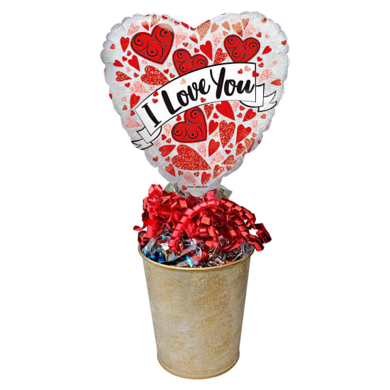 Love You Lolly Pot - Standard