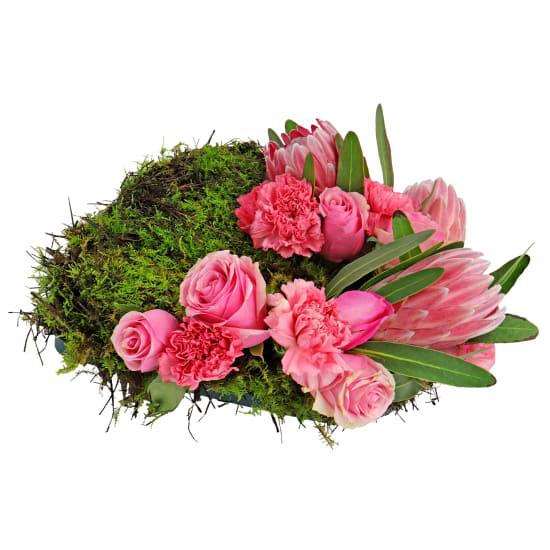 Open Heart Sympathy Wreath - Standard