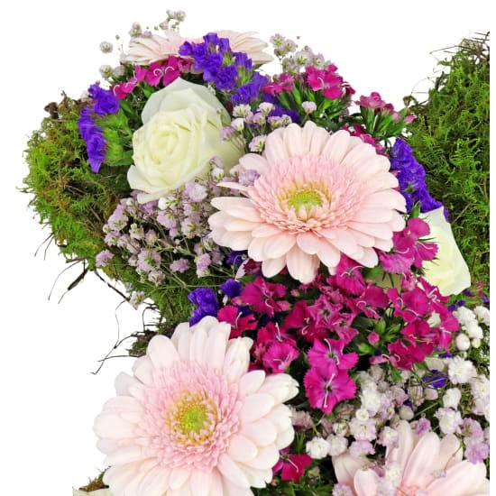 All Our Sympathy Flower Cross - Standard