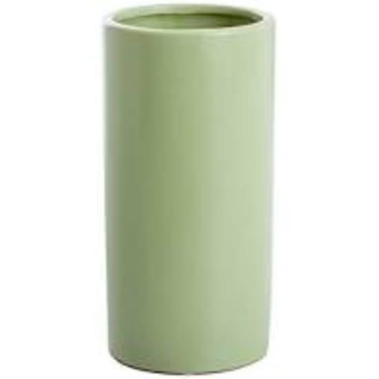 Matte Sage Ceramic Vase - Standard