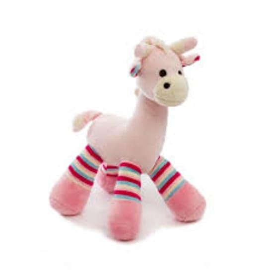 Pink Rattle Giraffe - Standard