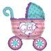 Baby Girl 80CM  Balloon