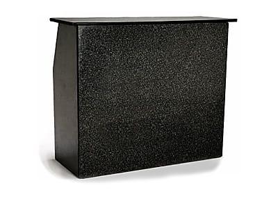 4 ft Black Portable Bar