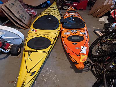 2 Set of Tsunami 145 Kayaks