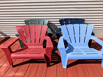 Outdoor Garden Chairs (4 Set)