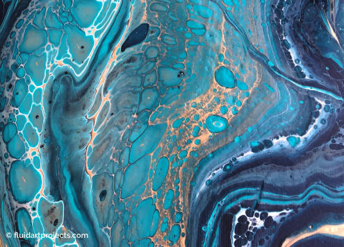 How To Create Cells In Your Acrylic Pouring Painting Fluid Art Projects