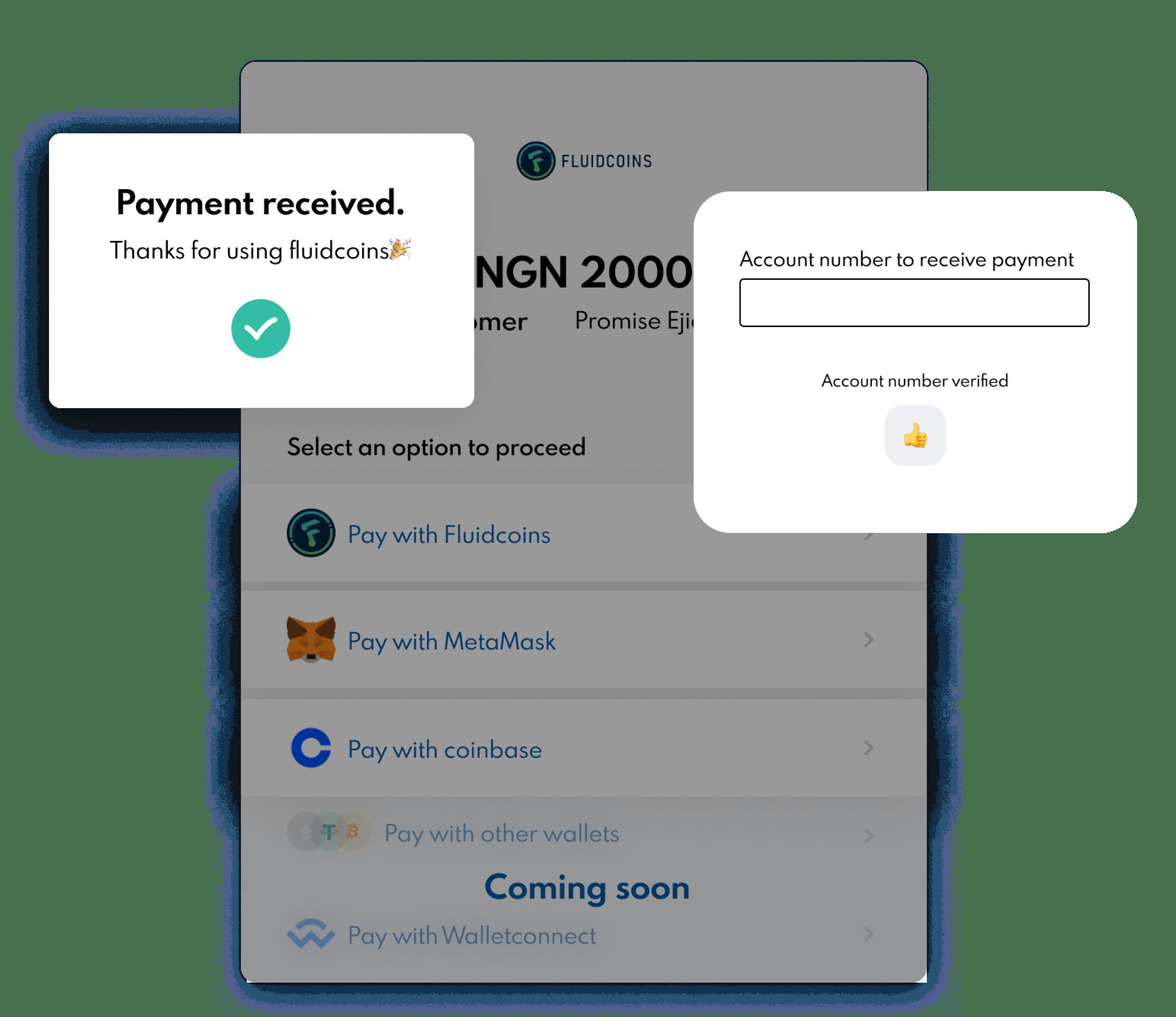 payment recieved