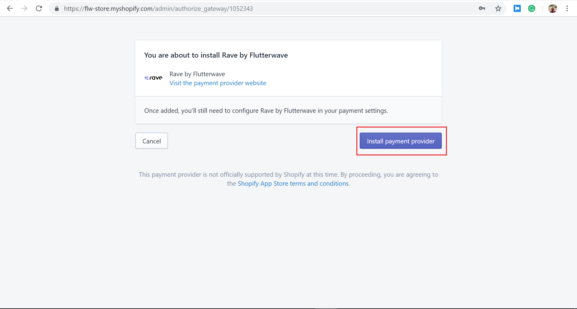 How To Integrate Rave into Shopify - Flutterwave Help & Support