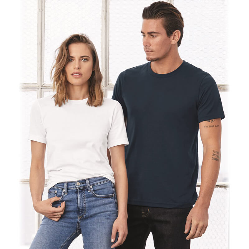 Bella + Canvas 3001 Unisex Short Sleeve Jersey T-Shirt