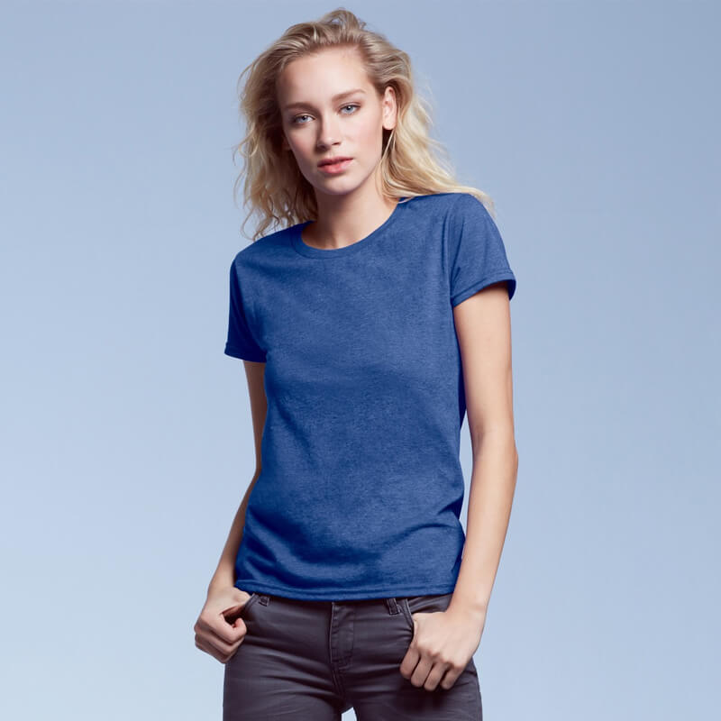 Anvil 880 Ladies Ringspun Fashion Fit T-Shirt