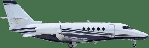 Side profile of Cessna CE-700 Citation Longitude aircraft