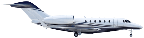 Side profile of Cessna 750 Citation X aircraft