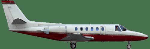 Side profile of Cessna Citation Sovereign Citation Sovereign aircraft