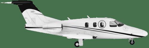 Side profile of Eclipse EA500 500 aircraft