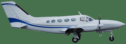 Side profile of Cessna 421 Golden Eagle aircraft