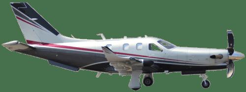 Side profile of Daher-Socata TBM 900 TBM aircraft
