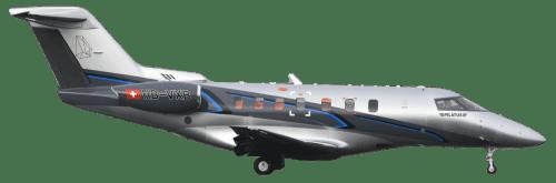 Side profile of Pilatus PC-24 PC-24 aircraft