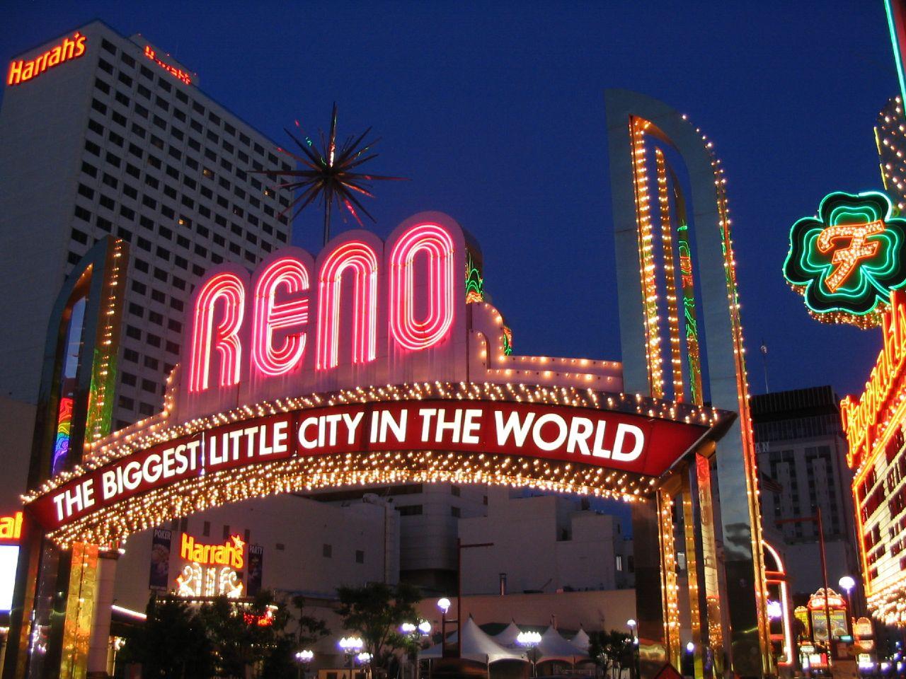 Hero photograph of Reno Airport RNO in Reno NV