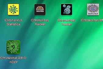 Existing coronavirus related apps