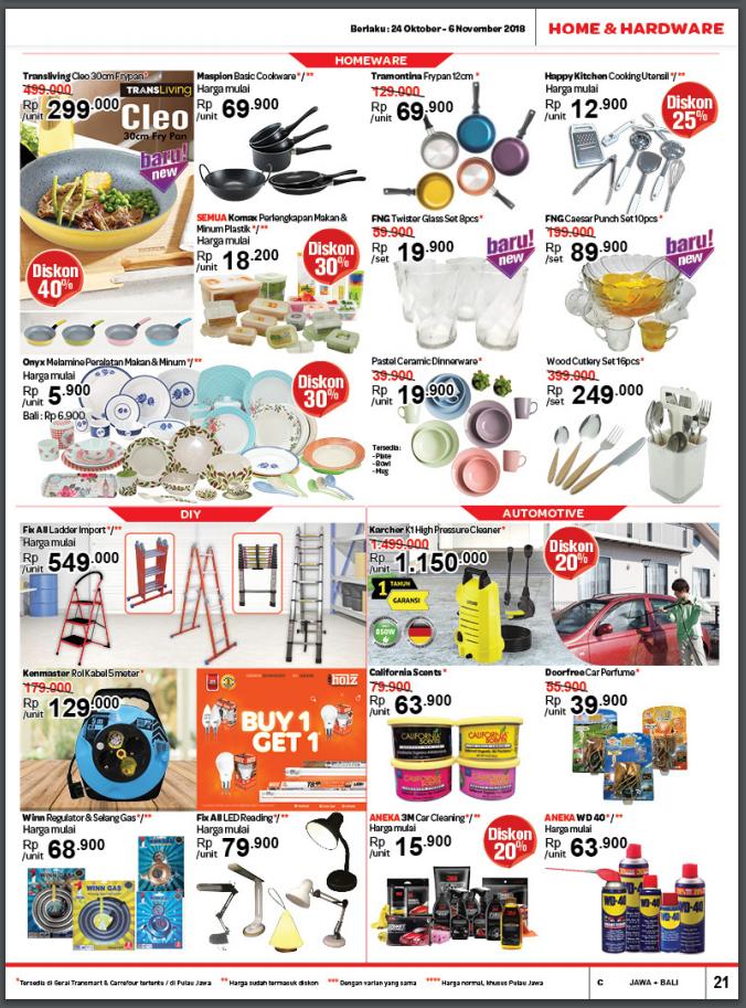 Katalog Terbaru Transmart Carrefour November 2018